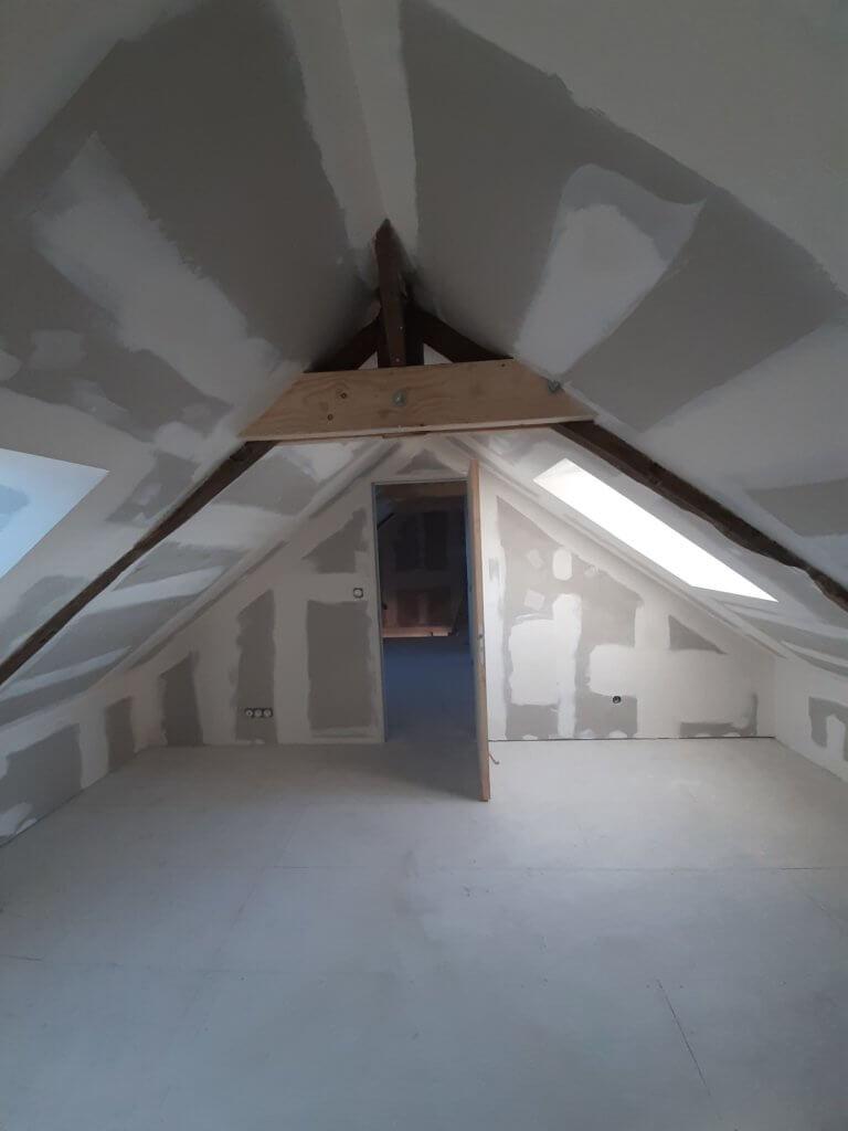 Aménagement de combles - Entreprise Artisan Bernard Bindé - BEIGNON