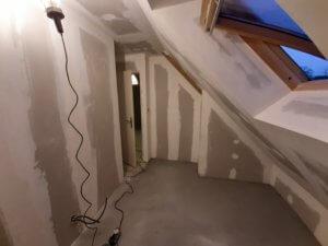 Aménagement d'une pièce de vie à l'étage - ARTISAN BERNARD BINDE BEIGNON