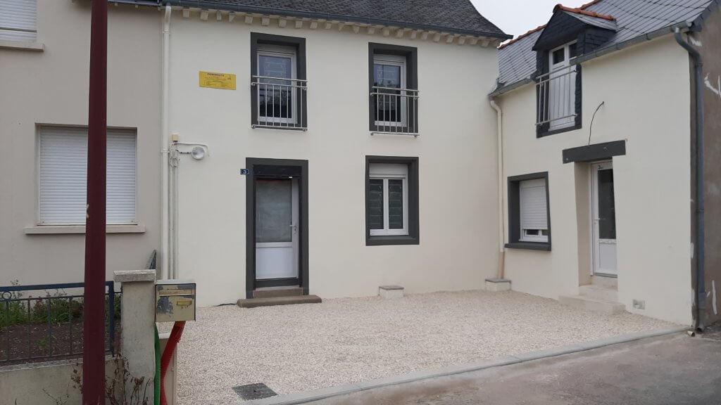 Rénovation complète - aménagement extérieur - ARTISAN BERNARD BINDE BEIGNON