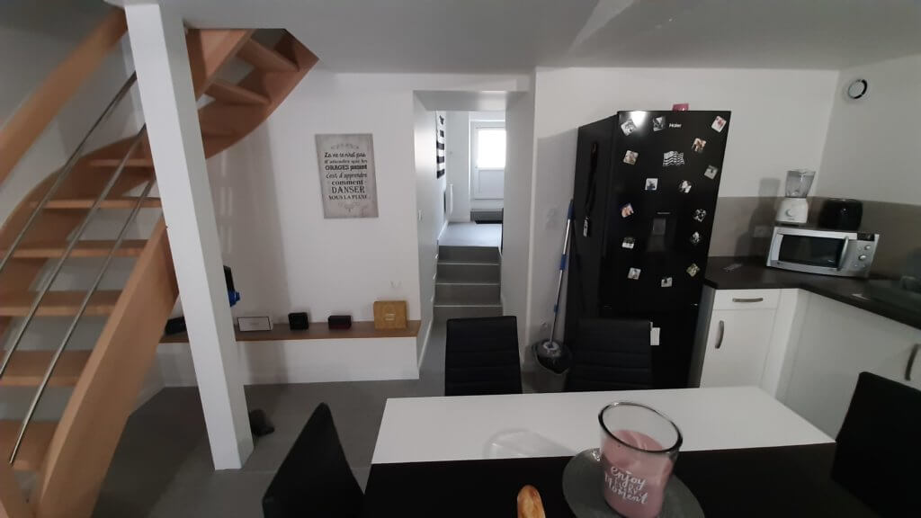 aménagement pièce de vie étage - ARTISAN BERNARD BINDE