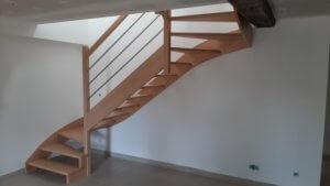 Pose escalier - ARTISAN BERNARD BINDE BEIGNON