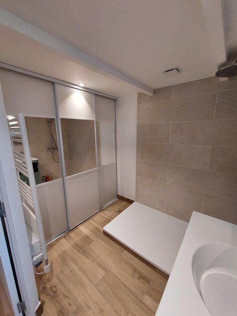 Remise à neuf d'une salle de bains - ARTISAN BERNARD BINDE